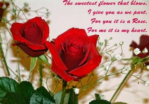 Pics Of Pair Of Red Rose With Love