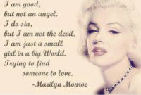 Quotes About Life And Love Marilyn Monroe Vwjk