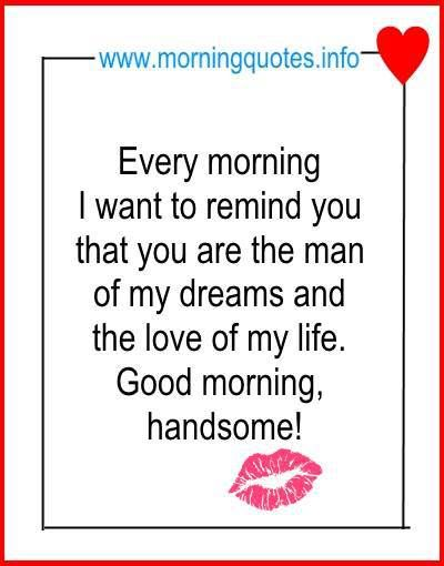 As The Quote Says Description Good Morning Love Quotes For Him Image