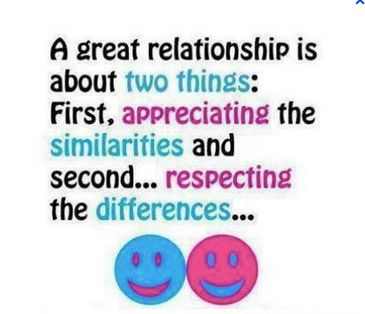 Quotes About Strong Relationship A Great Relationship Is About Two Things First Appreciating The Similarities And
