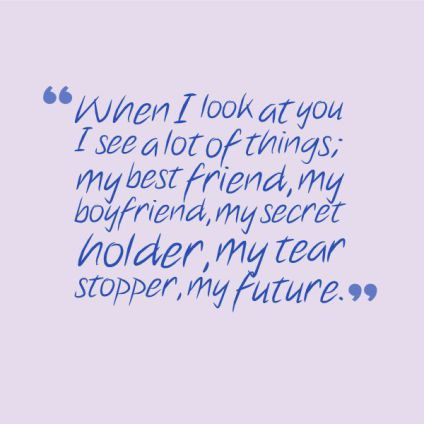 I Love You Quotes About Your Boyfriend