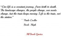 Quotes From Paulo Coelhos Aleph