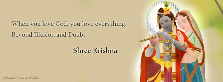 Radhe Krishna Quotes