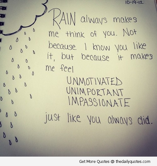 Superb Rain Poems And Quotes Quotesgram