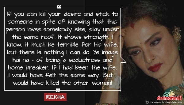 Explosive Quotes From Rekha The Untold Story