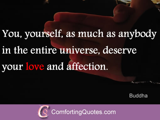 Buddha Quote About Loving Yourself Inspirational Religious Love Quote
