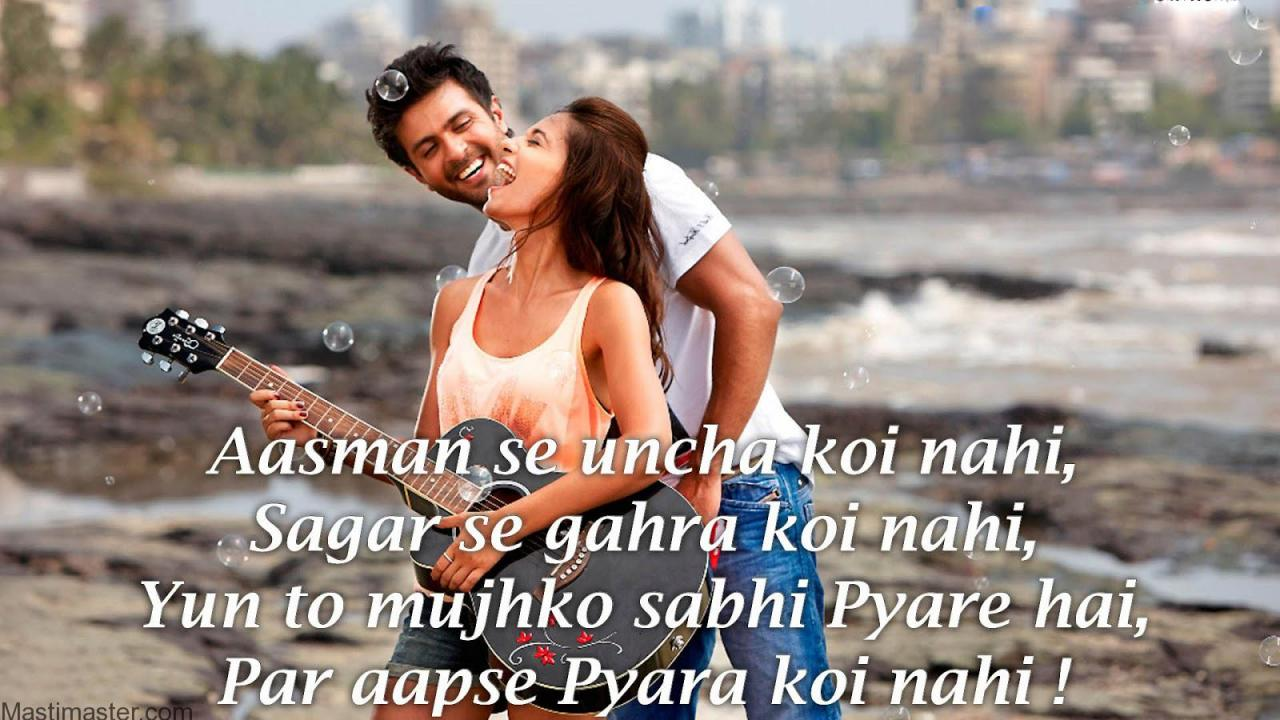 Romantic Love Quotes For Girlfriend Hindi Romantic Images With Love Shayari Cute Love P Os With