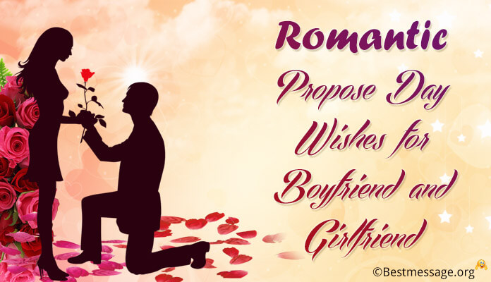 Boyfriend And Girlfriend Propose Day Wishes