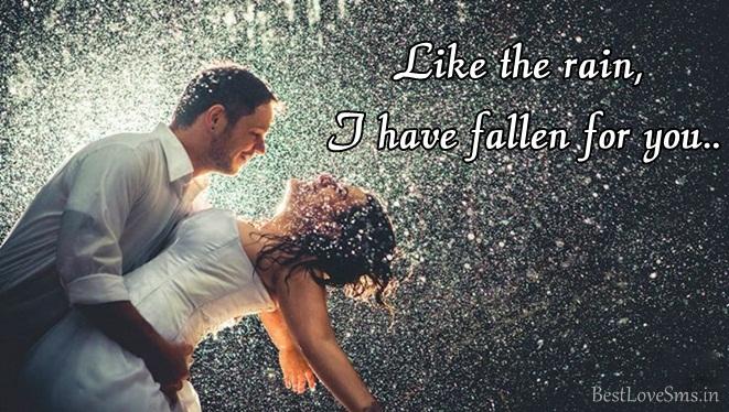 Romantic Rain Status