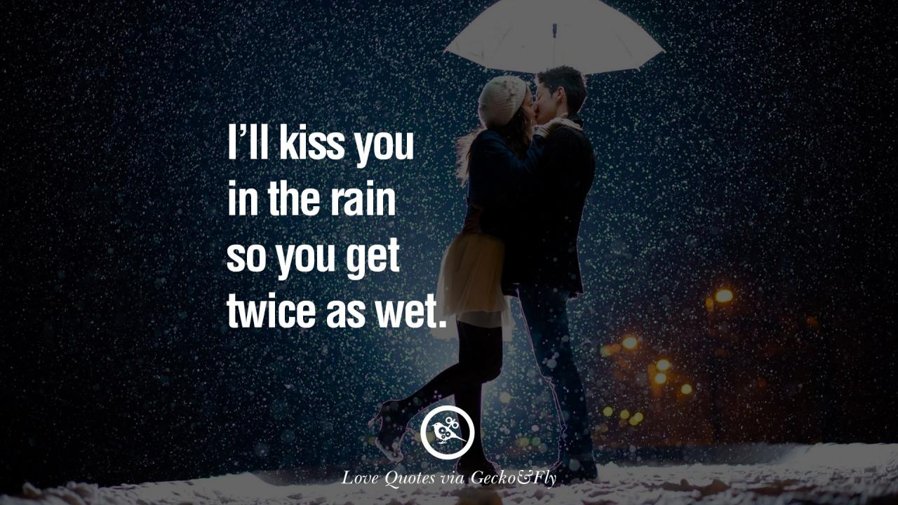 Romantic Rainy Images With Quotes Romantic Love Quotes For Him And Her On  Valentine Day