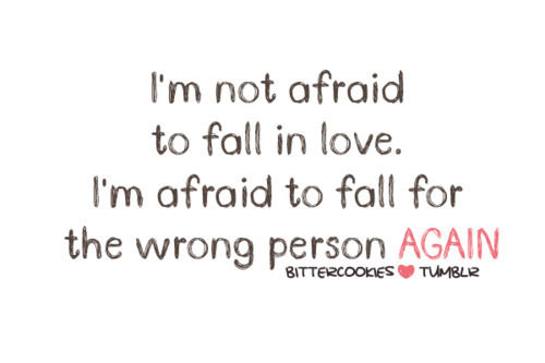 Sad Love Quote Fall In Love With Wrong