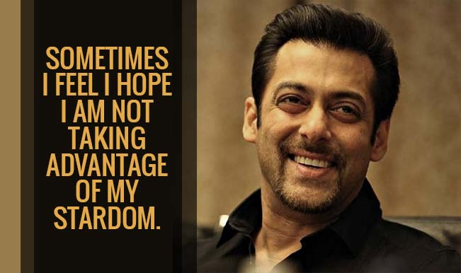 Salman Khan Surprises With  Thought Provoking Quotes That Will Leave You Loving Him More