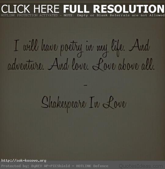 Shakespeare In Love Quotes Unique Love Quotes Images Shakespeare In Love  Quotes Viola Its A