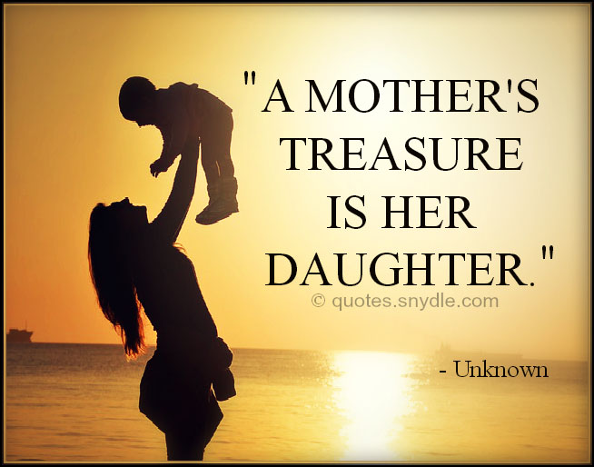 Mother Daughter Love Quotes Stunning Mother Daughter Quotes With Image Quotes And Sayings