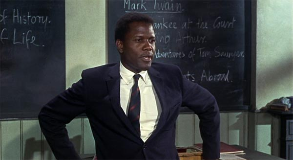 Sidney Poitier As Ark T Eray To Sir With Love
