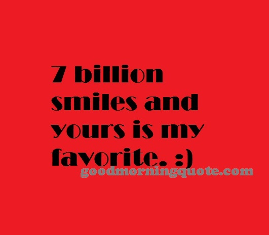 Smile Unique Love Quotes