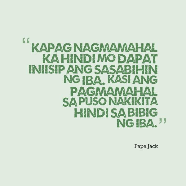 Tagalog Love Quotes Papa Jack Twitter Tagalog Love Quotes Papa Jack