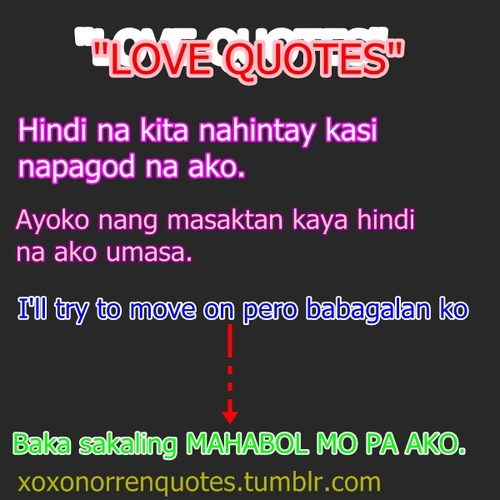 Funny Quotes Tagalog Version Love Quotes Tagalog Funny