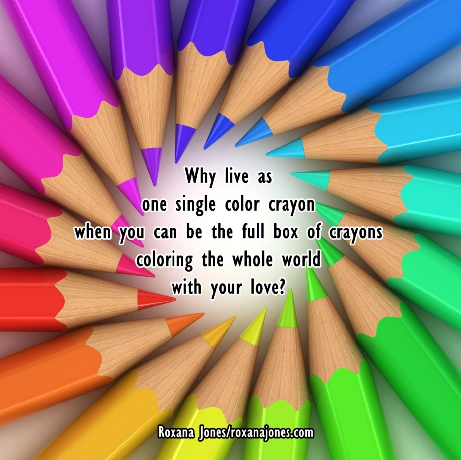 Sweet Encouraging Quotes About Love The Colors Of Your Love And The Picture Of Colourful