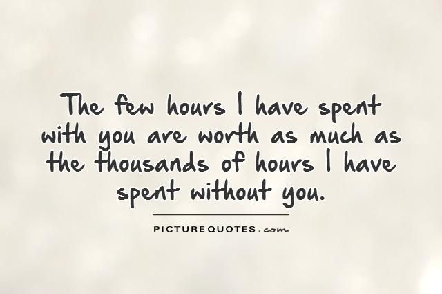 Quotes About Time With Your Love Hover Me
