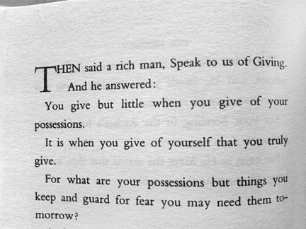I Urge Everyone To Read The Prophet