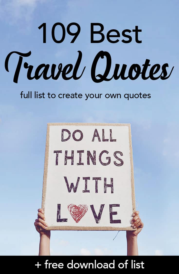Best Travel Quotes To Inspire Every Traveler