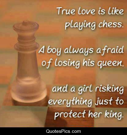 True Love Is Like Chess