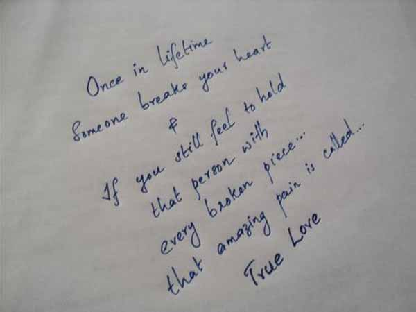 Once True Love Quote Love Quotes