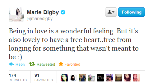 Twitter Mariedigby Being In Love Is A Wonderful Being In Love Quote