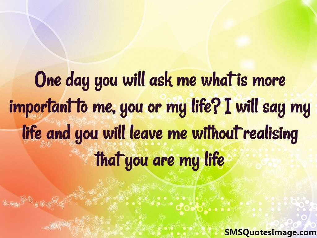 U R My Life Quotes In Hindi You Are My Life Love Sms Quotes Image