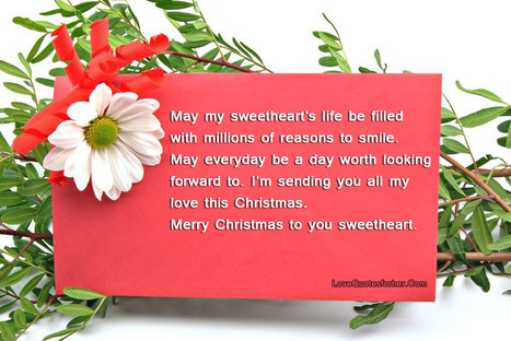 Merry Christmas Love Quotes For Her And Hi