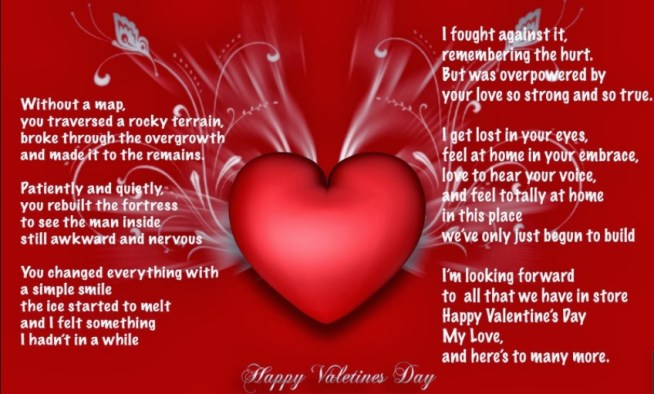 Valentines Poems Picture
