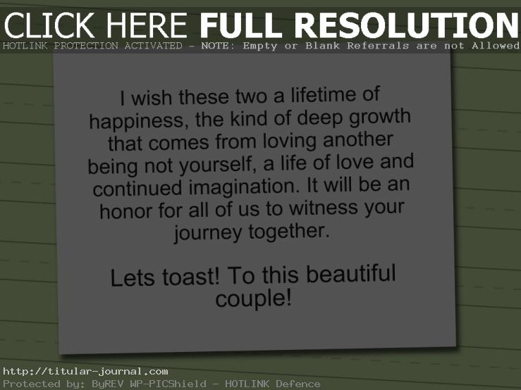 Wedding S Ch Quotes Amusing Wedding S Ch Quotes Stunning Best  Wedding Toast Quotes Ideas