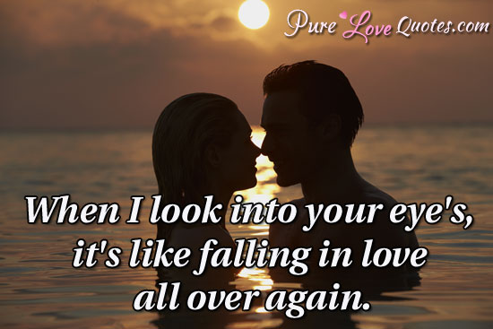 Love Quotes Look Into Your Eyes Hover Me
