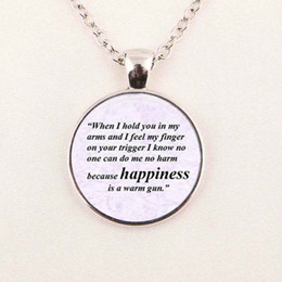 Wholesale Jewelry Quote Necklace The Beatles Necklace All You Need Is Love Pendant Glp O Cabochon