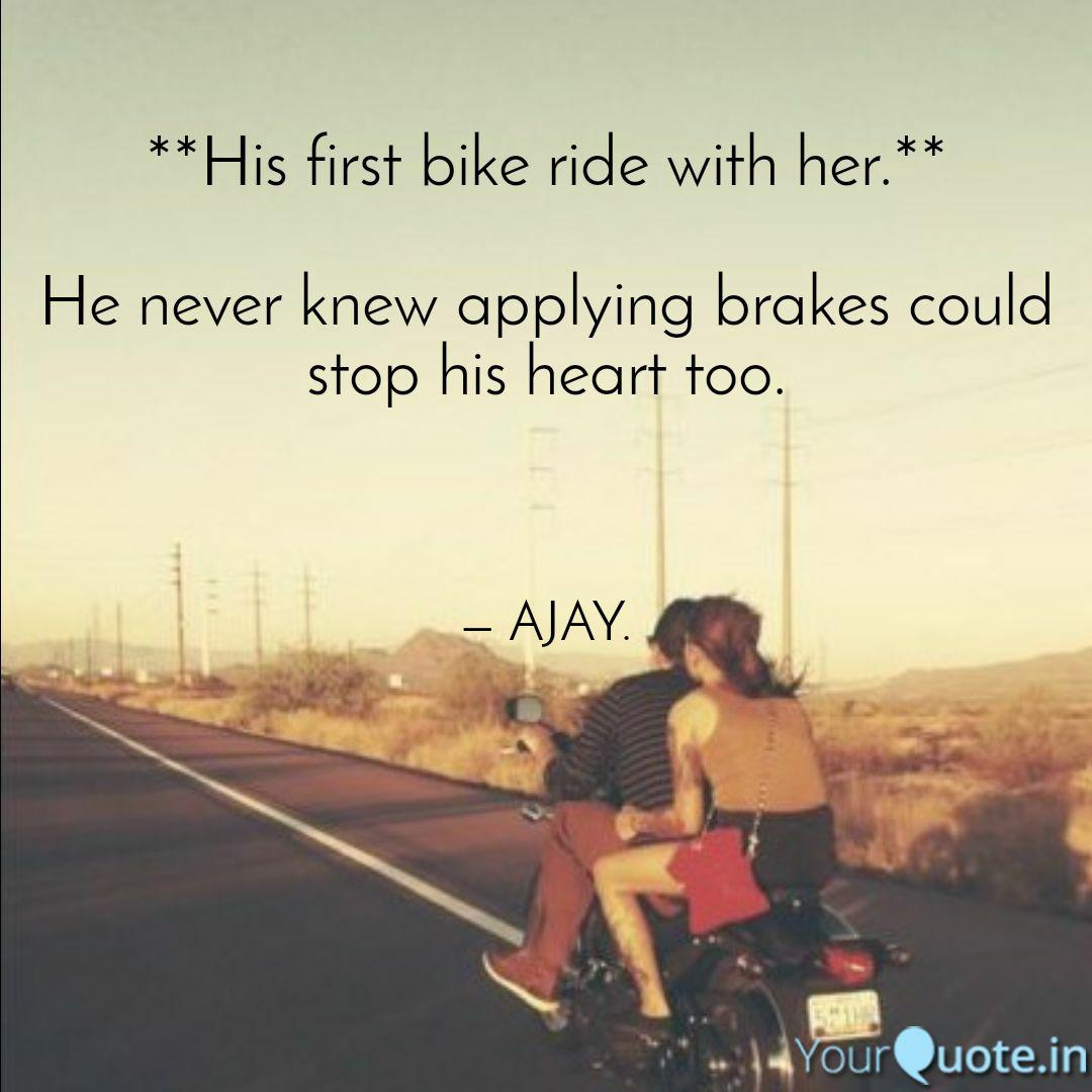 His First Bike Ride With Her He Never Knew Applyingkes