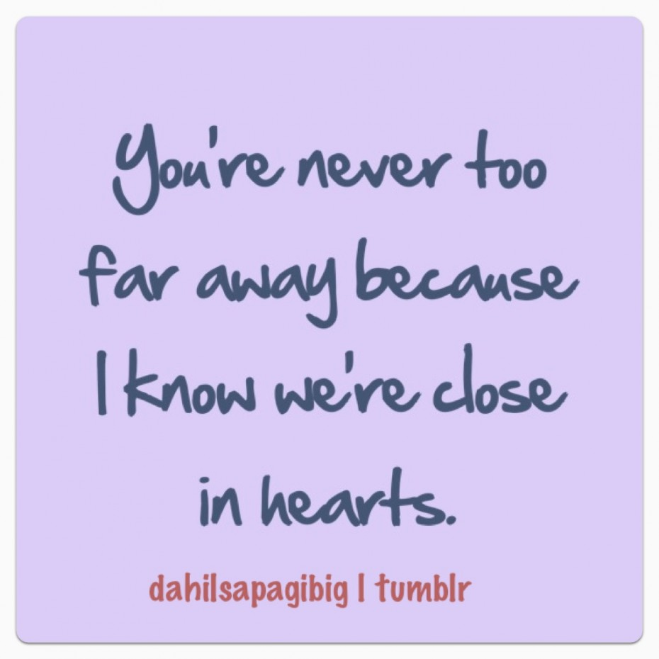 Romantic Missing You Quotes For Him You Are Never Too Far Away Quote About Love