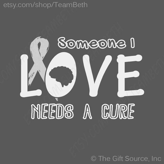 In Tumor Awareness Cancer Grey Ribbon Someone I Love Needs A Cure Tshirt Gray Matters Survivor