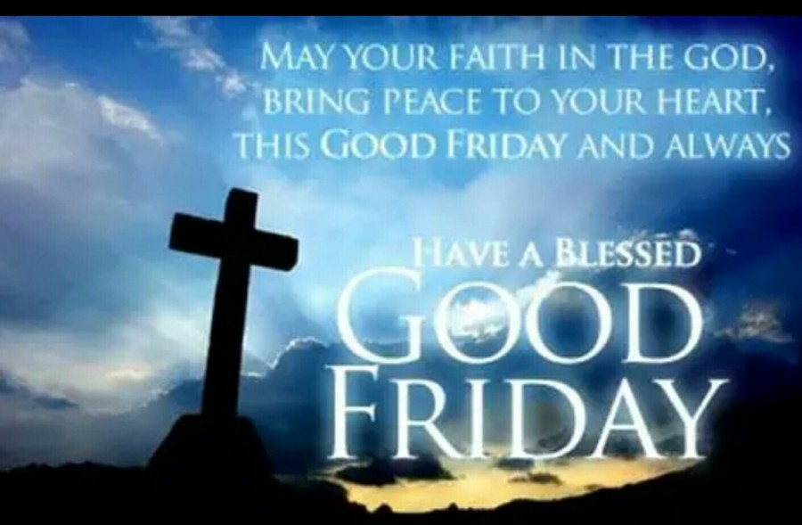 Good Friday Denote The Killing Of Our Jesus The Unblemished Sheep The Ideal Penance He Assumed Our Blame And Fault Upon Himself