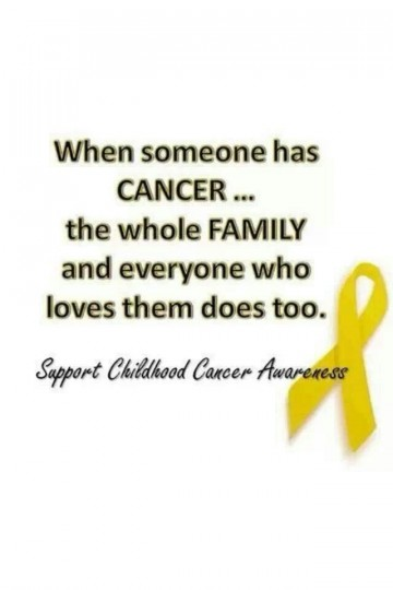 Best Childhood Cancer Quotes On Pinterest In Cancer