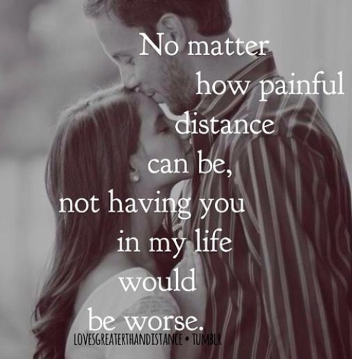 Love Is Strong Long Distance Quoteslong