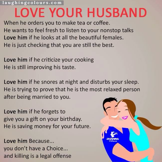 Love Ur Husband Bf Partner Married Lifefunny Quoteslife