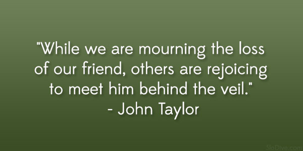 Quotes About Death Of A Friend  Gripping Quotes About Losing A Loved One  Quotesnew