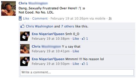 Facebook Status  C B I Think I Need Some Time Away