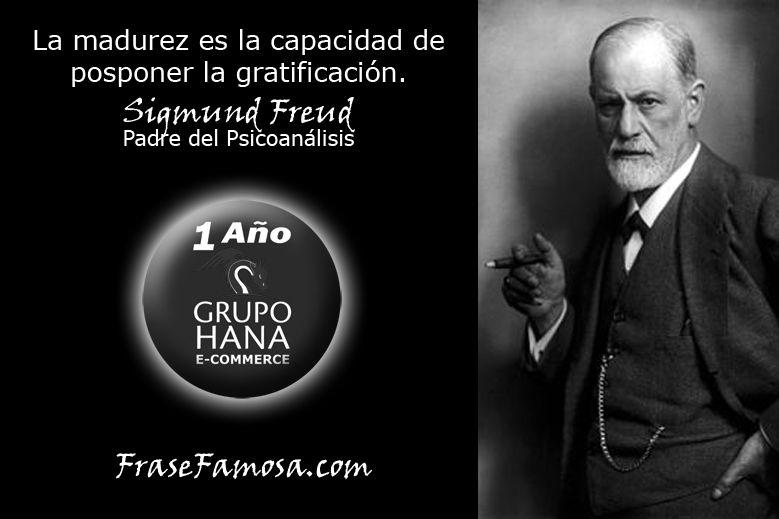 Frases De Sigmund Freud Frases De Madurez Frase Famosa