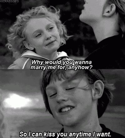 Quotes Gifs Sweet Home Alabama Dakota Fanning Cute Couple Black And White Kids Child So I