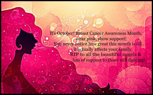 T Cancer Awareness Month Wear Pink Show Support You Never
