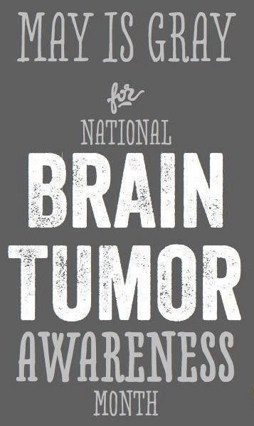In Tumor Awareness Month In May