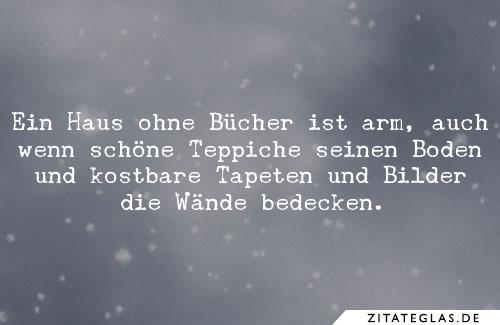 Hermann Hesse Zitate Ein Haus Ohne Bucher Ist Arm Auch Wenn Schone Teppiche Seinen