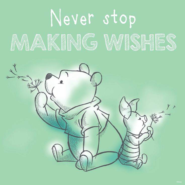 E D A Ef B Fnever Stop Making Wishes E D A Winnie The Pooh Piglet